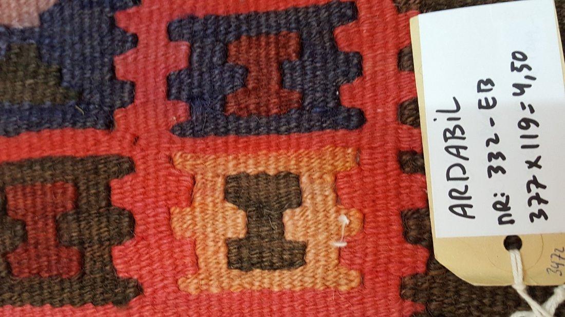 Persian Ardabil Runner Kilim Rug Carpet - 6