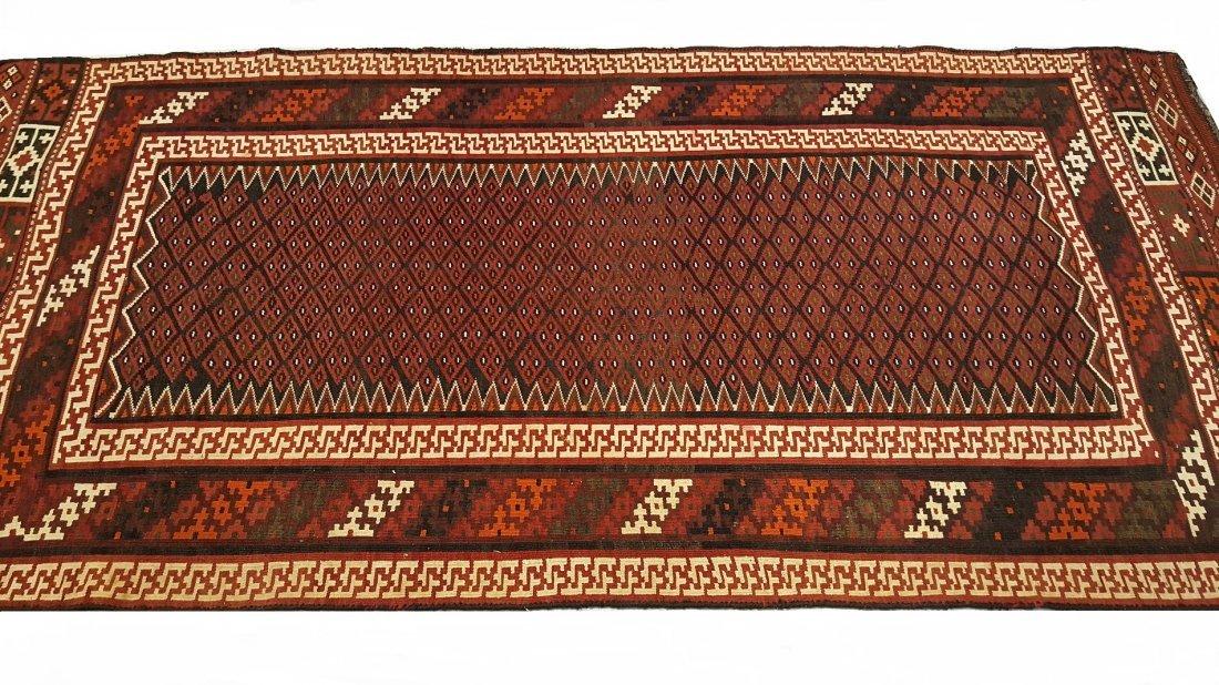 Persian Bakhtiari Kilim Rug Carpet - 2