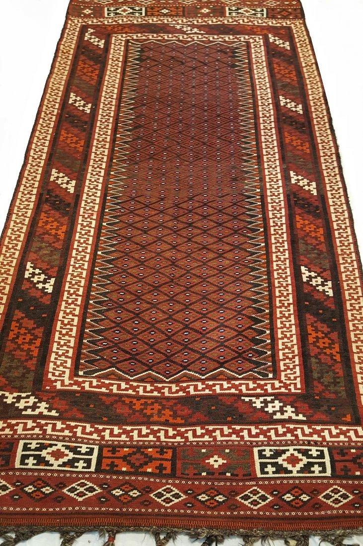 Persian Bakhtiari Kilim Rug Carpet - 4