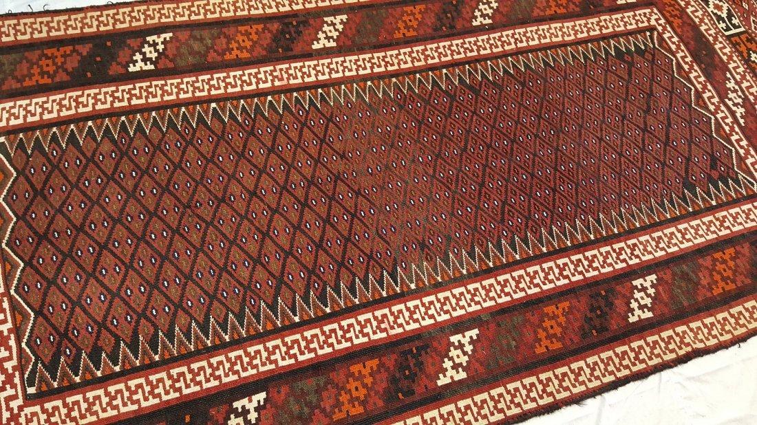 Persian Bakhtiari Kilim Rug Carpet - 5