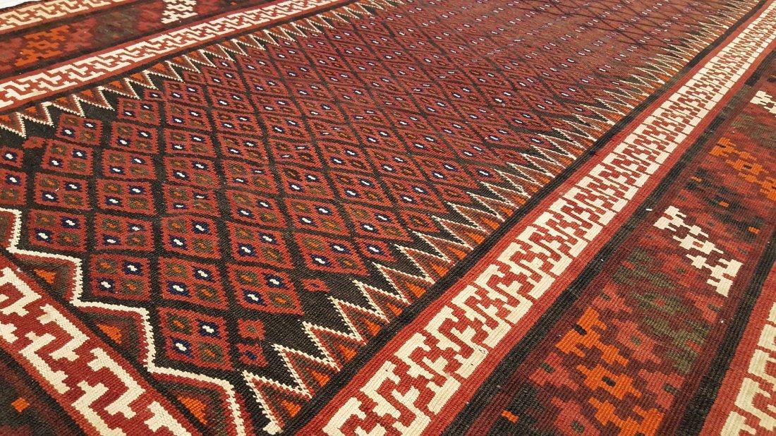 Persian Bakhtiari Kilim Rug Carpet - 6