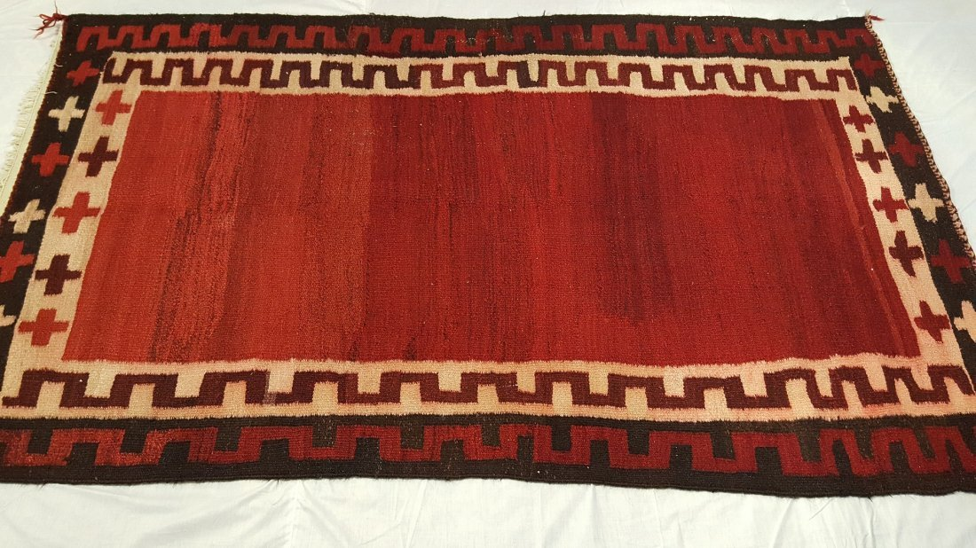 Persian Shiraz Kilim Rug carpet - 2