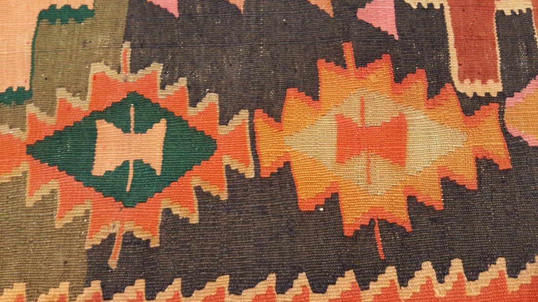 Caucasus Kilim Rug Carpet - 7