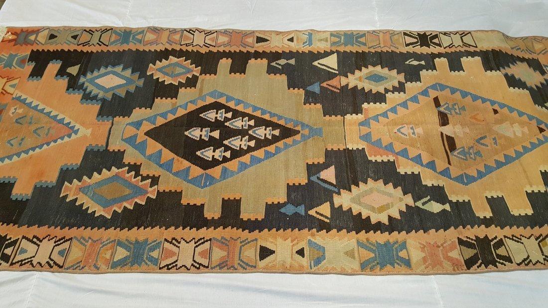 Caucasus Kilim Rug Carpet - 2