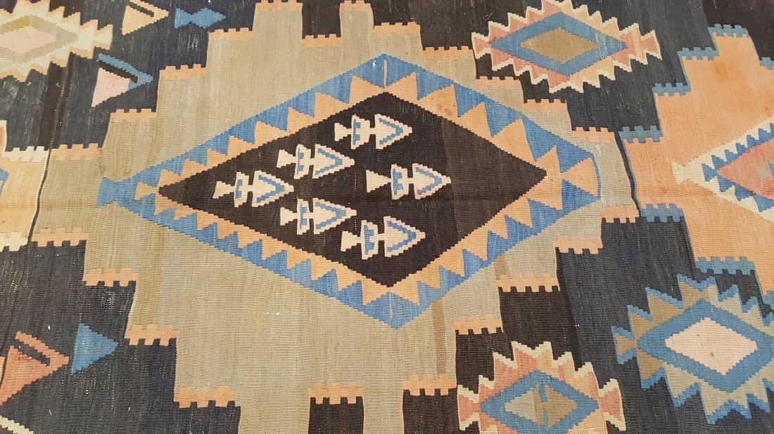 Caucasus Kilim Rug Carpet - 5
