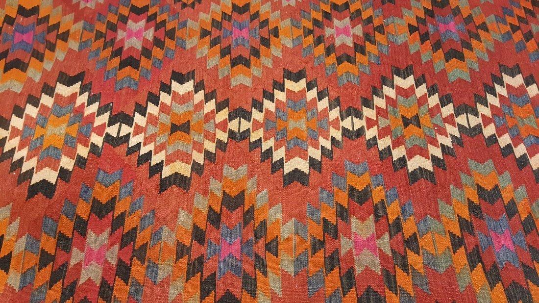 Persian Qashqai Kilim Rug Carpet - 4