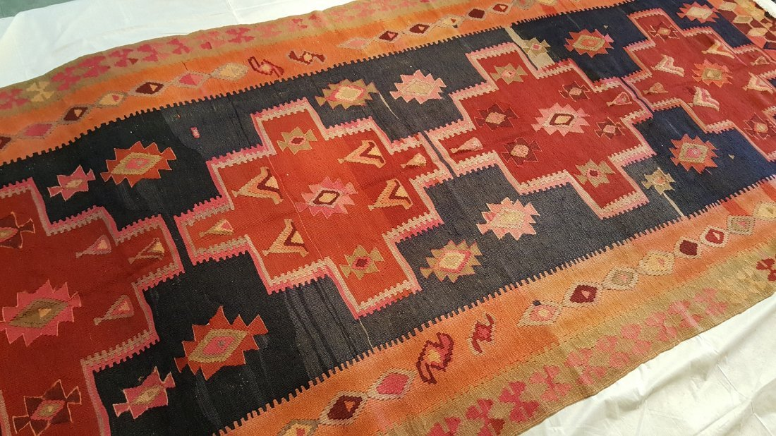 Anatolia Kilim Rug Carpet - 3
