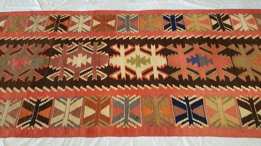 Avar Runner Kilim Rug Carpet - 2