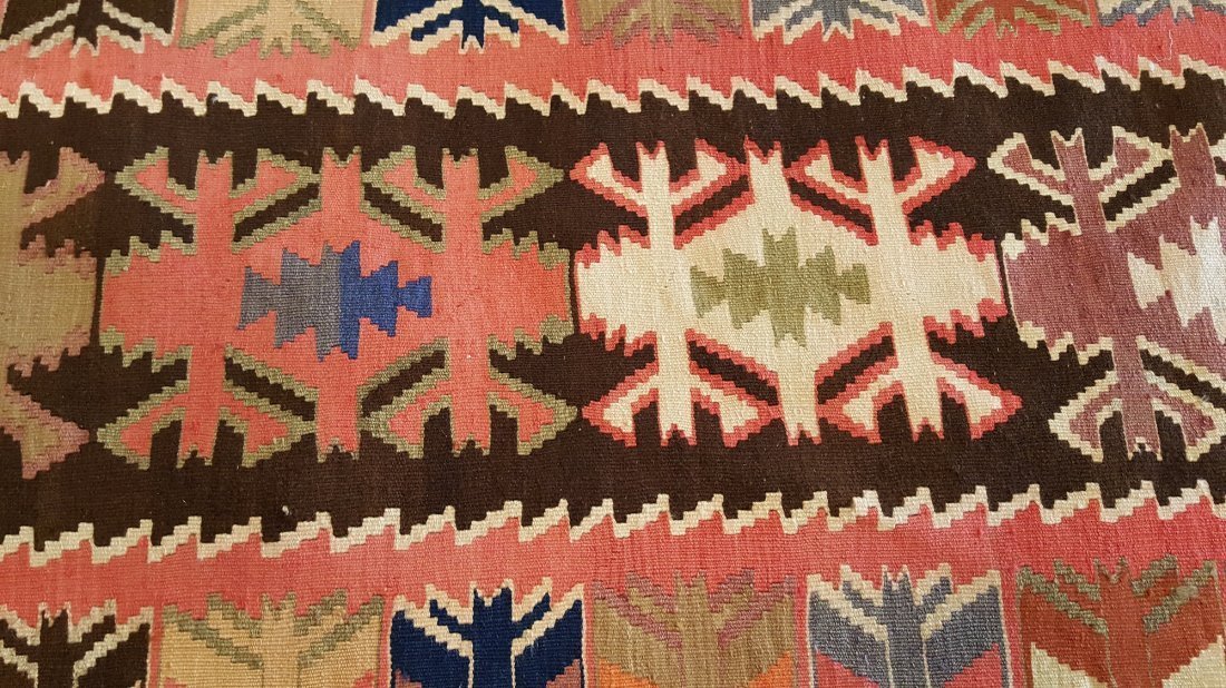 Avar Runner Kilim Rug Carpet - 3