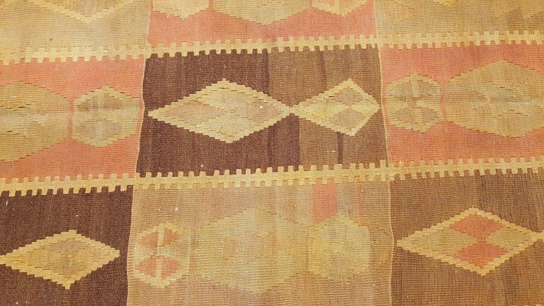 Caucasus Kilim Rug Carpet - 4