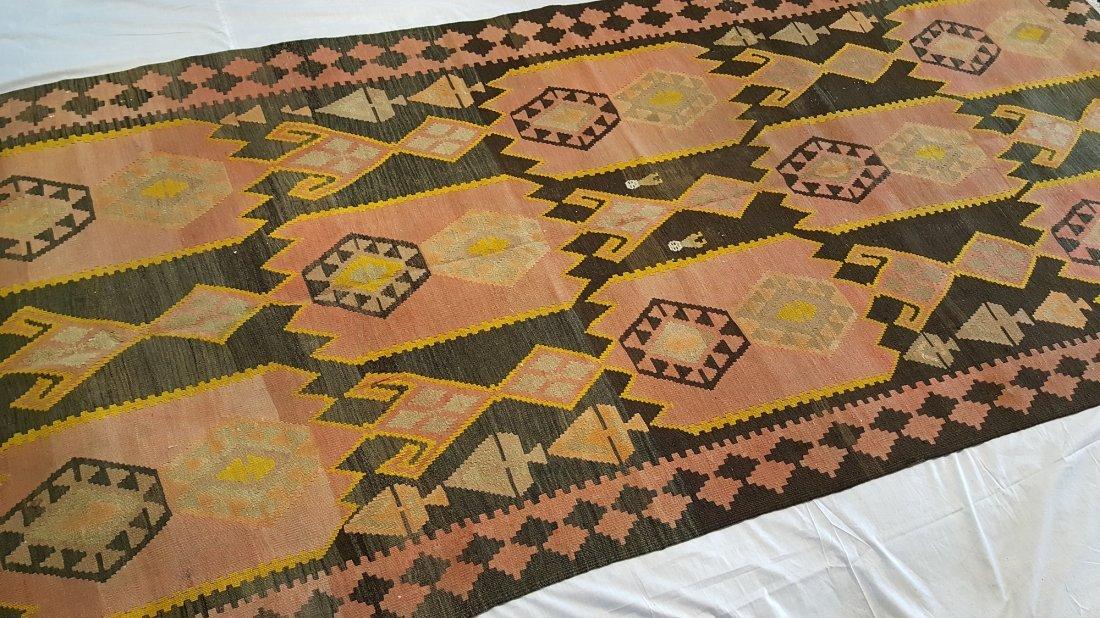 Kazak Kilim Rug Carpet - 4