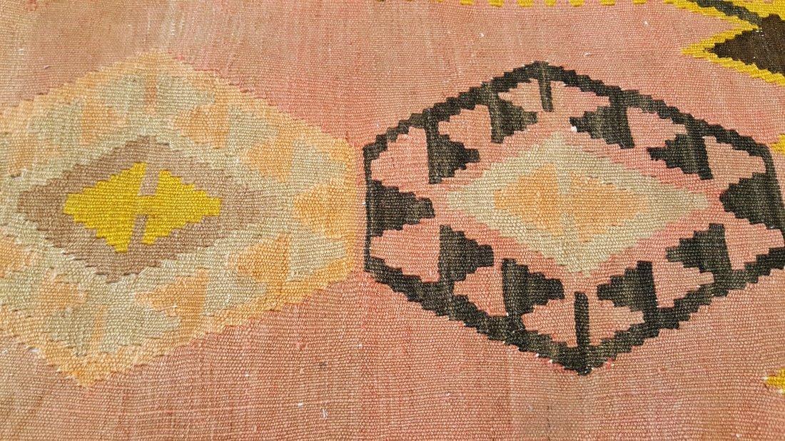Kazak Kilim Rug Carpet - 8