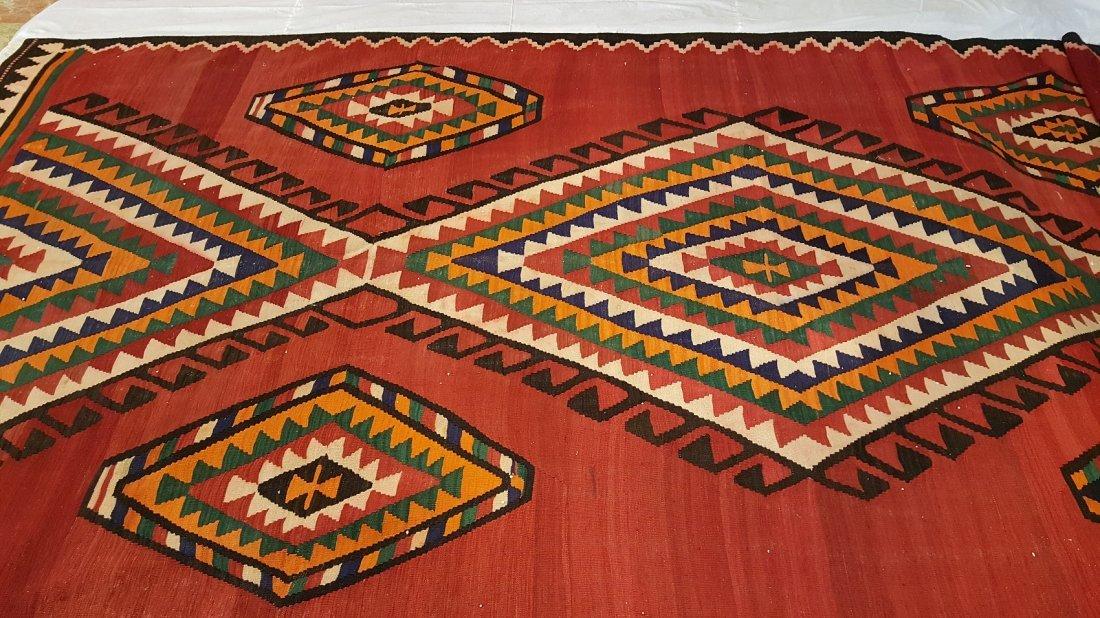 Persian Meshkin Kilim Rug Carpet - 2