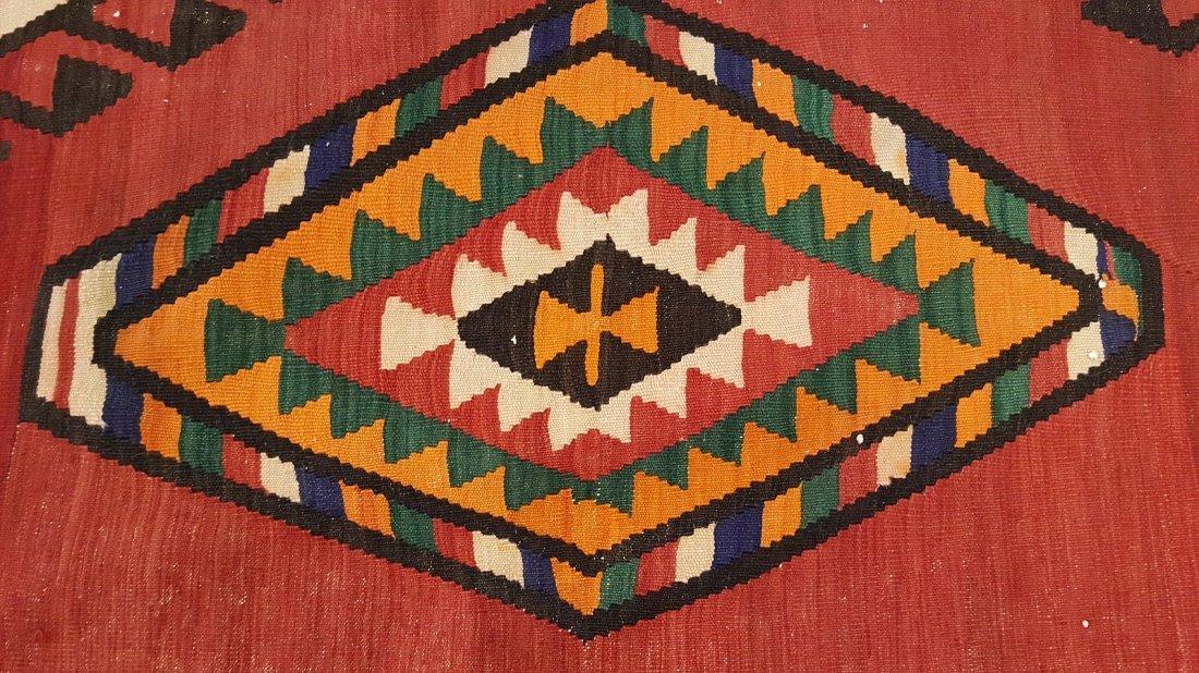Persian Meshkin Kilim Rug Carpet - 4
