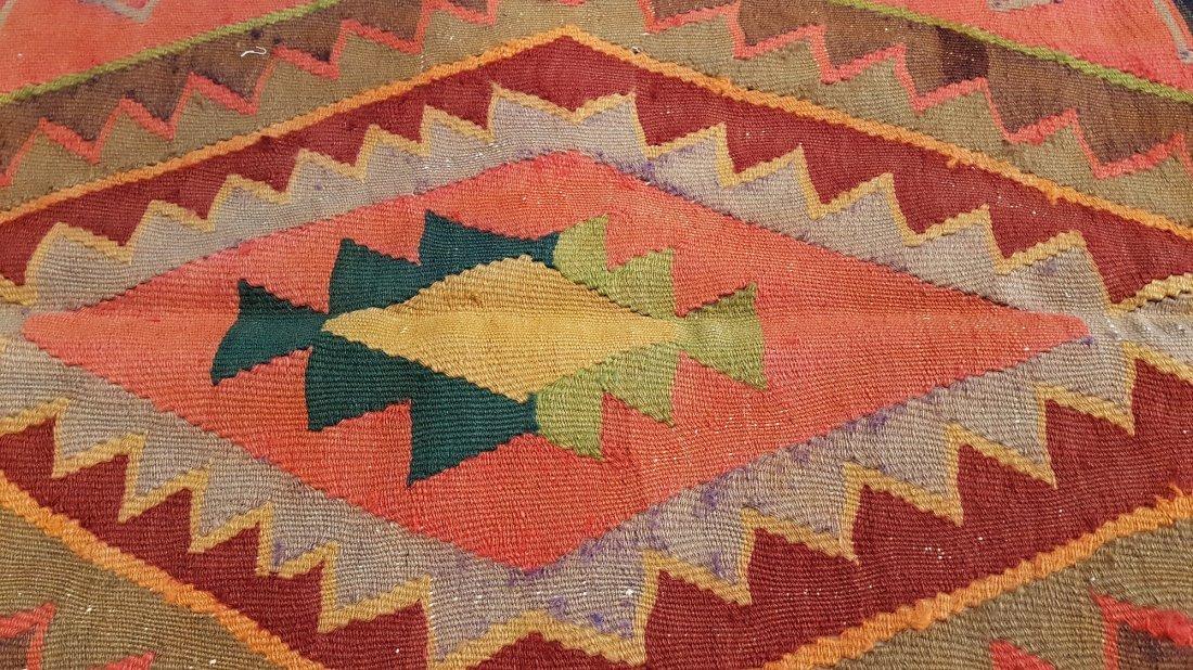 Anatolian Kilim Rug Carpet - 4