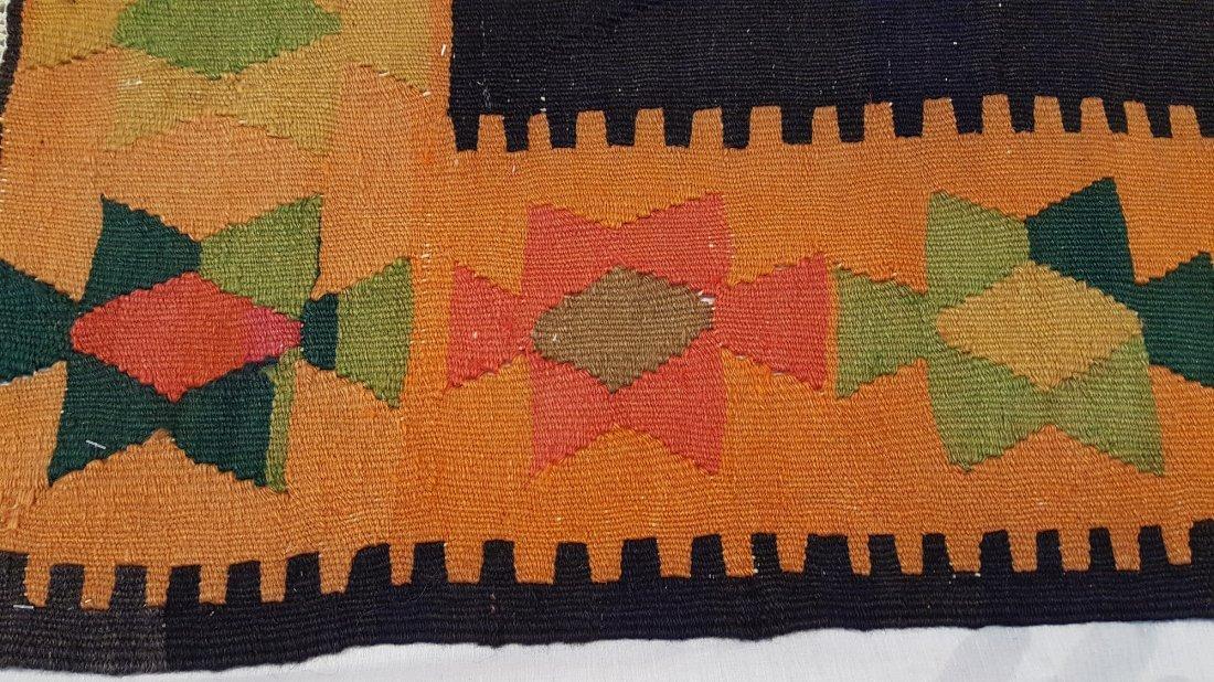 Anatolian Kilim Rug Carpet - 5