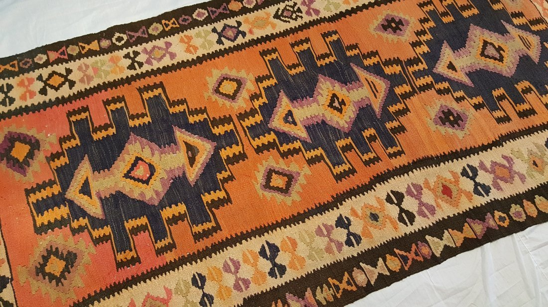 Persian Ardabil Kilim Rug Carpet - 3
