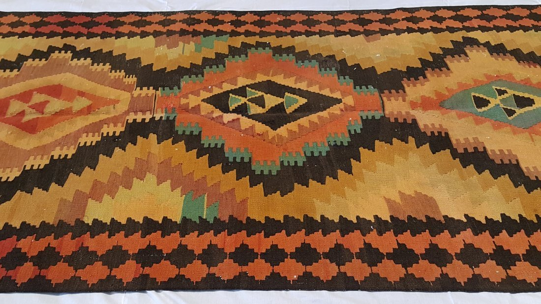 Shahsevan Kilim Rug Carpet - 2