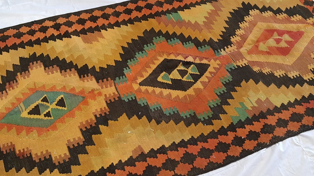Shahsevan Kilim Rug Carpet - 4