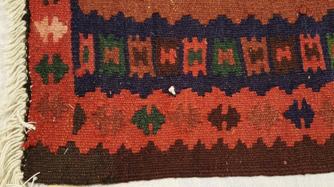 Persian Qashqai Runner Kilim Rug Carpet - 5