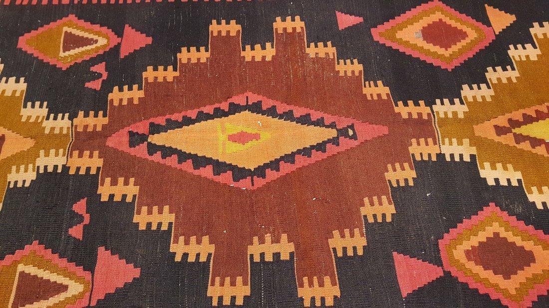 Kazak Kilim Rug Carpet - 2