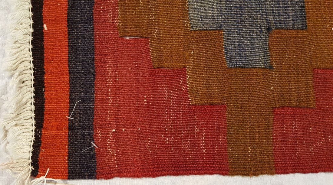 Caucasus Kilim Rug Carpet - 6