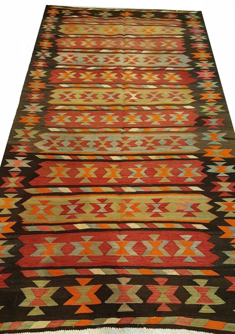 Persian Meshkin Kilim Rug Carpet