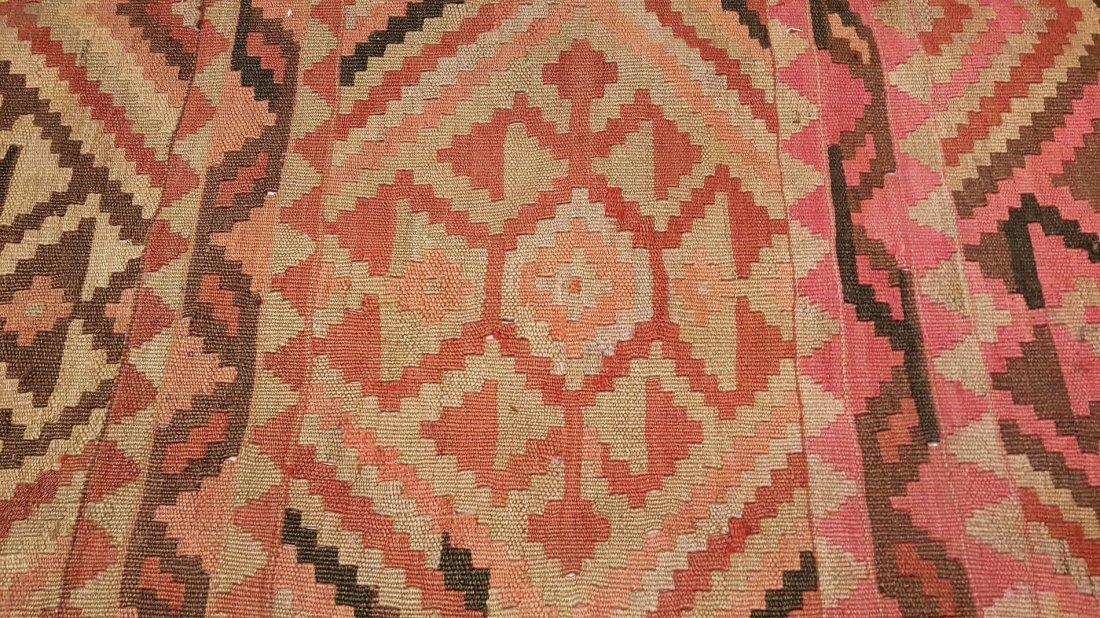 Persian Meshkin Kilim Rug Carpet - 3