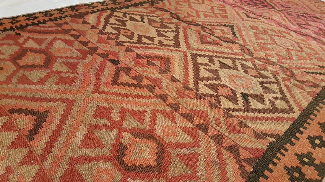 Persian Meshkin Kilim Rug Carpet - 5