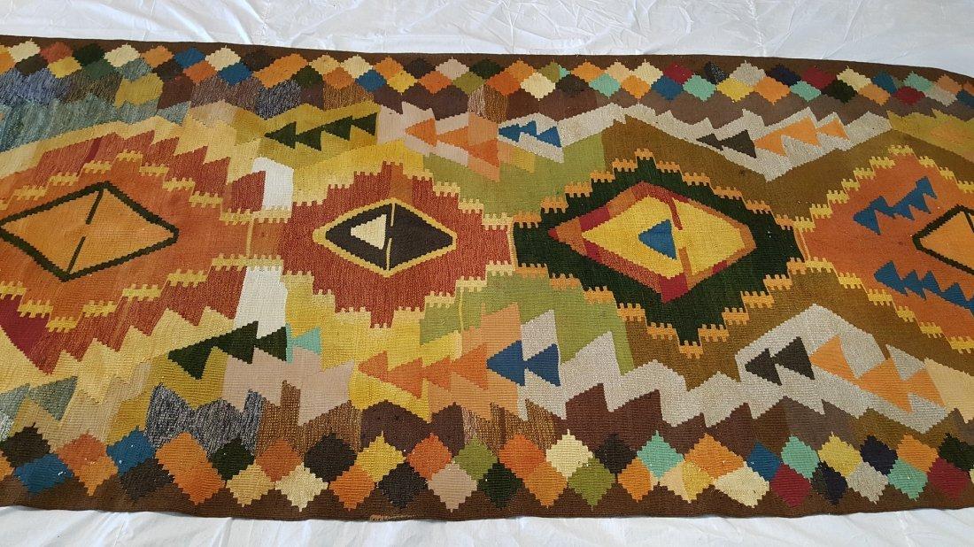 Shahsavan Kilim Rug Carpet - 2