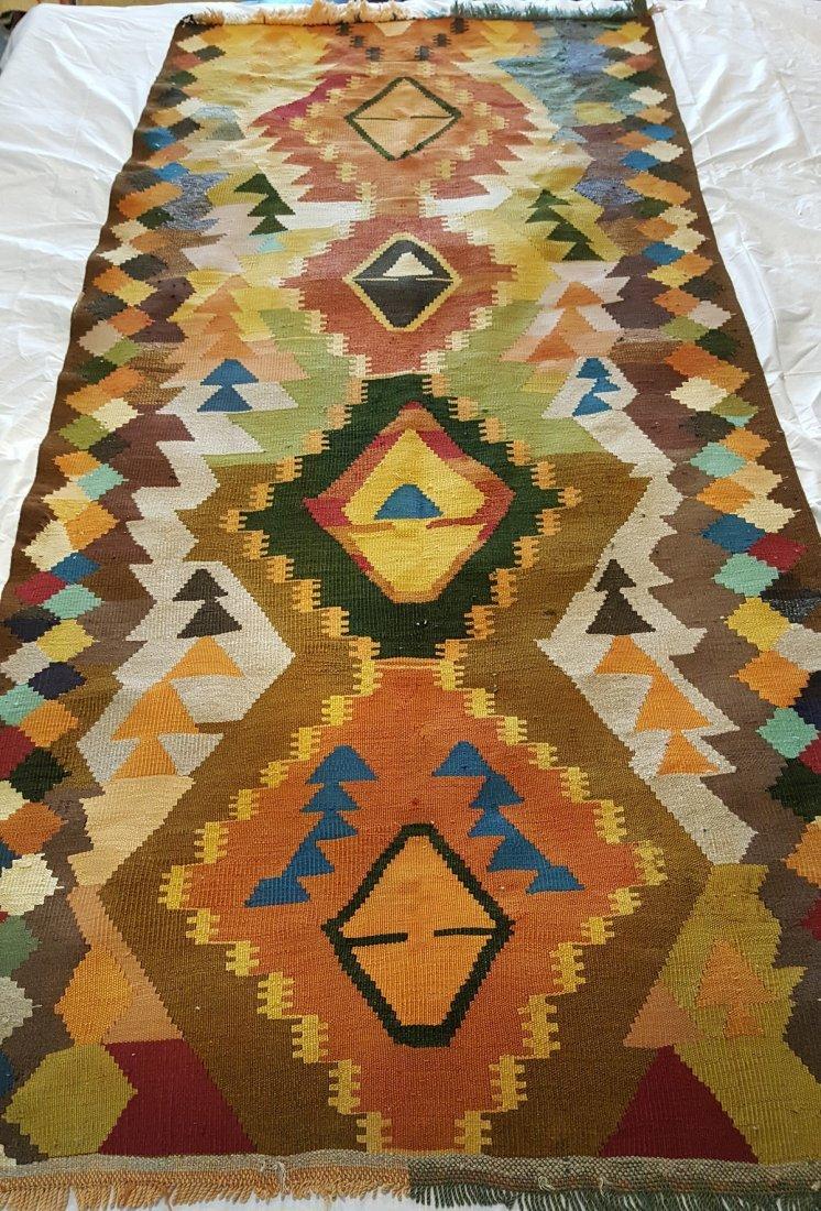 Shahsavan Kilim Rug Carpet - 3