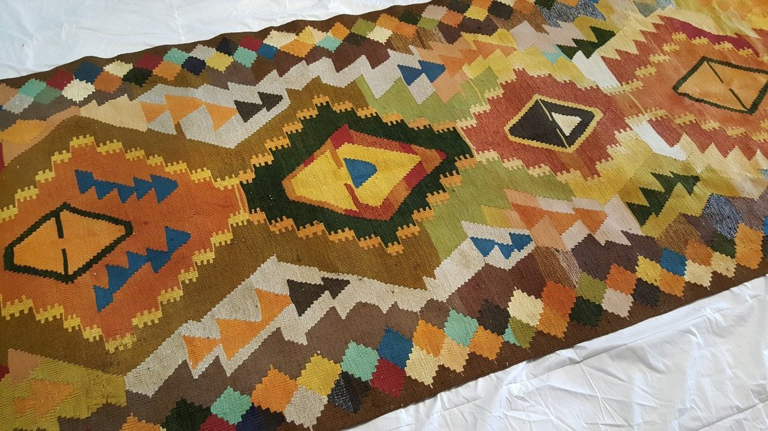 Shahsavan Kilim Rug Carpet - 4