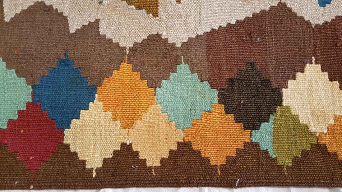 Shahsavan Kilim Rug Carpet - 5