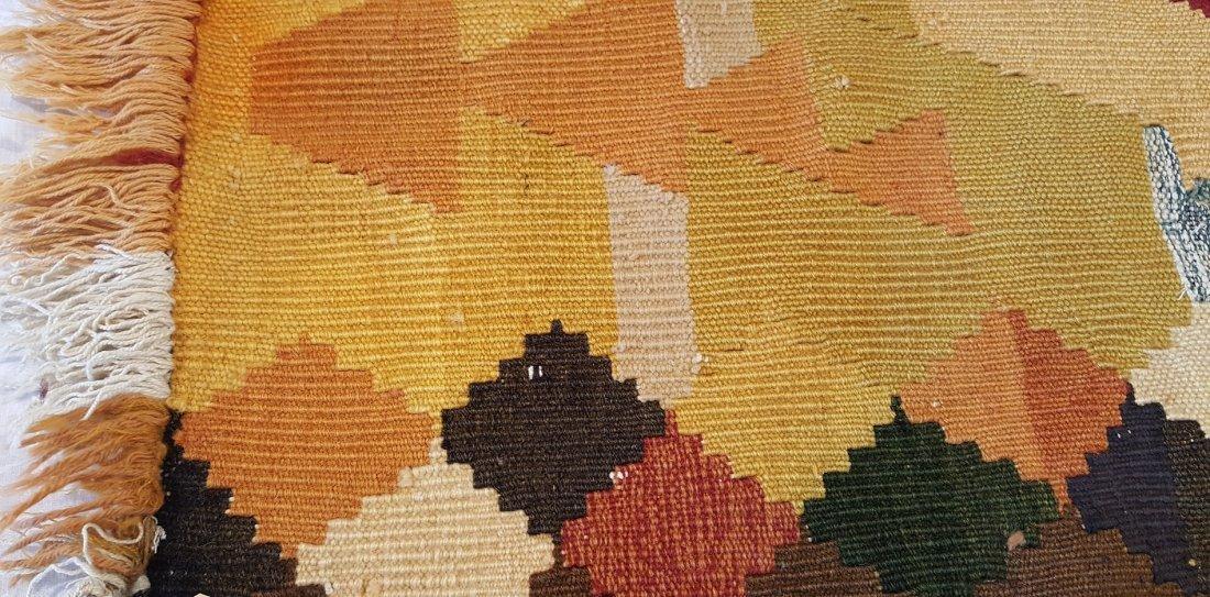 Shahsavan Kilim Rug Carpet - 6