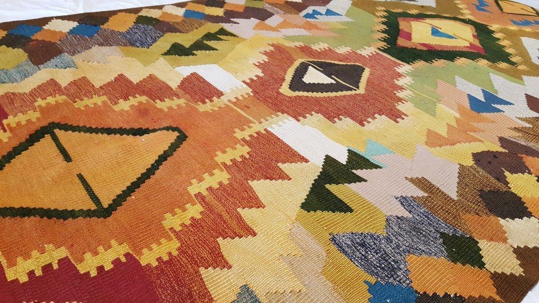 Shahsavan Kilim Rug Carpet - 8