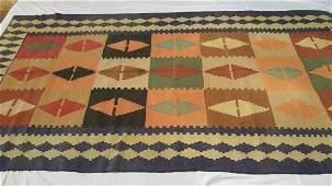 Rare Antique Caucasian Shirvan Kilim Rug Carpet