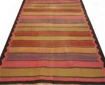 Old Persian Meshkin Kilim Rug Carpet
