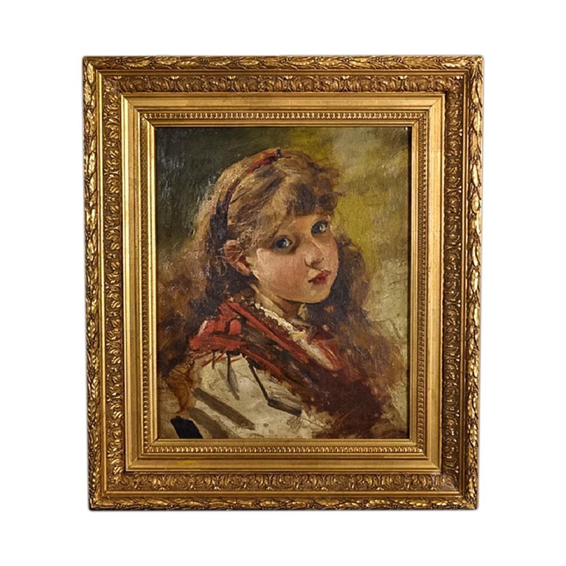 Painting by Nicolas Jon Grigorescu (1838-1907) Romanian