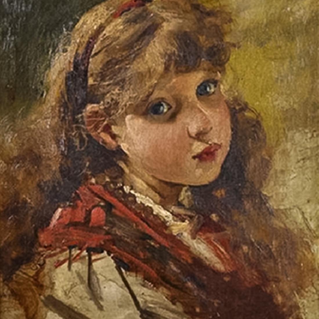 Painting by Nicolas Jon Grigorescu (1838-1907) Romanian - 2
