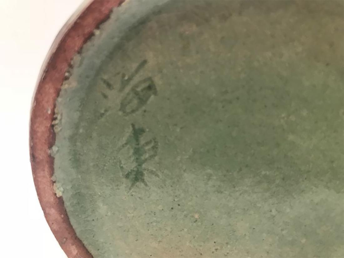 Korean Li Chao Dynasty Li Zhaoli Celadon Carved Vase - 6