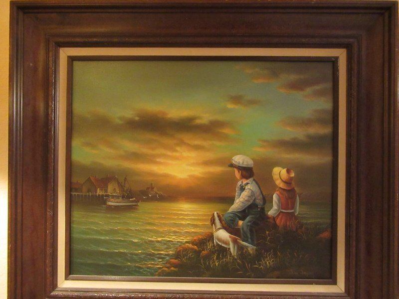 Old Oil Painting - 2