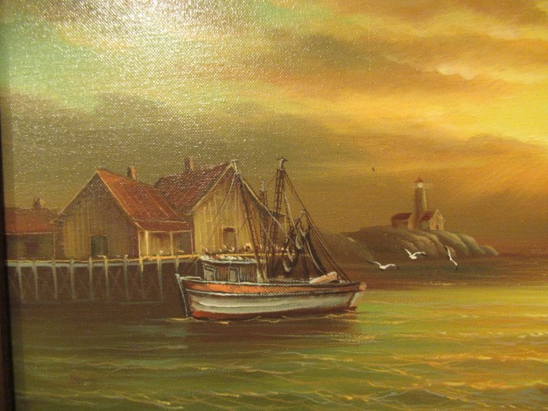Old Oil Painting - 5