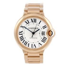 Cartier - A Ballon Bleu Bracelet Watch. 18ct Rose Gold