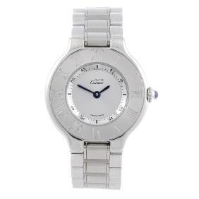 CARTIER - a Must de Cartier 21 bracelet watch.