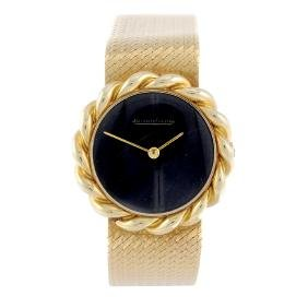 JAEGER-LECOULTRE - a lady's bracelet watch. Yellow