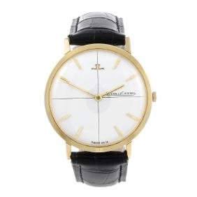 JAEGER-LECOULTRE - a gentleman's wrist watch. 18ct