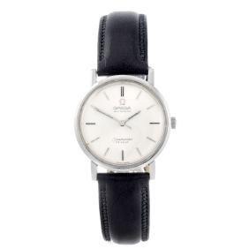 OMEGA - a gentleman's Seamaster De Ville wrist watch.