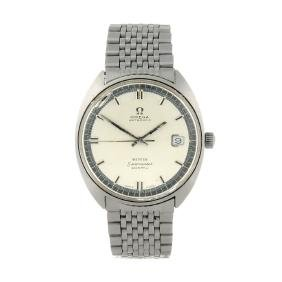 OMEGA - a gentleman's Seamaster Cosmic bracelet watch.