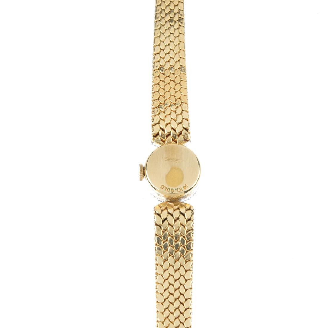 A lady's mid 20th century diamond cocktail watch. The - 2