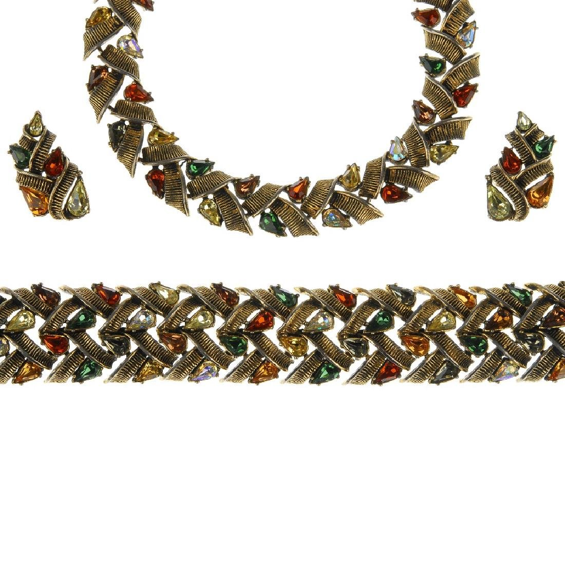 Fifteen items of Jewelcraft and Monet jewellery. To